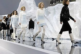 Chanel Fall 2010: All Faux Fur and Icebergs