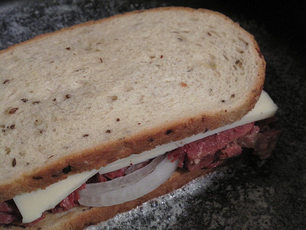 Photo Gallery: Corned Beef and Fontina Grilled Cheese