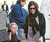 Slide Photo of Sandra Bullock and Sunny Shopping
