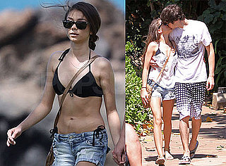 Photos of Sarah Hyland in a Bikini and Boyfriend Matt Prokop Relaxing on the Beach in Hawaii