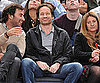 Slide Photo of David Duchovny at Knicks Game in NYC