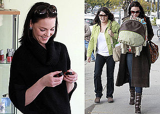 Photos of Katherine Heigl With Brown Hair Shopping in LA