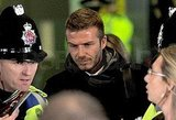 Photos of David Beckham and Victoria