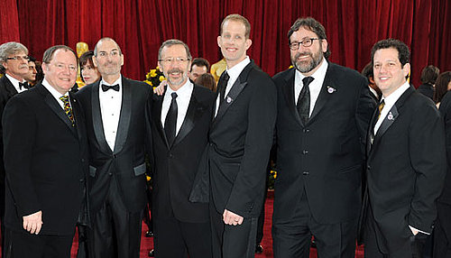 Photo of Steve Jobs on the Red Carpet at the 2010 Oscars
