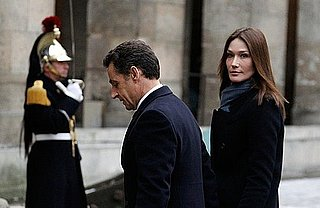 Carla Bruni and Nicolas Sarkozy Affair Rumors