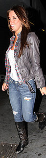 Audrina Patridge Seen Leaving Three Clubs