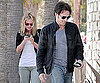 Slide Photo of Anna Paquin and Stephen Moyer at Lunch