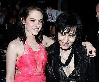 Slide Photo of Kristen Stewart and Joan Jett at The Runaways Premiere