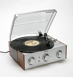 Retro-Style Record Player From Urban Outfitters