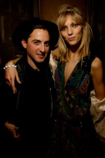 Anja Rubik, Sasha Knezevic Fete 25 Magazine Launch in Paris