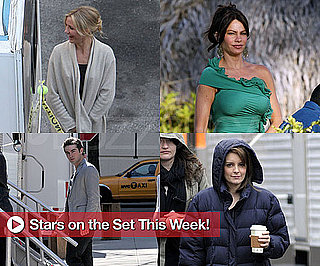 Photos of Cameron Diaz, Sofia Vergara, Chace Crawford, Glenn Close and Tina Fey on Set