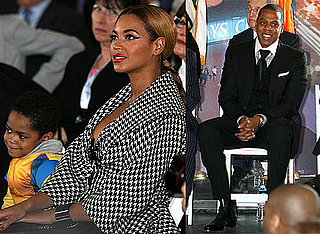 Photos of Jay-Z and Beyonce at Ground Breaking Ceremony at The Barclays Center in New York