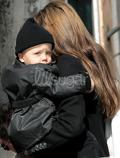 Knox and Vivienne Jolie-Pitt