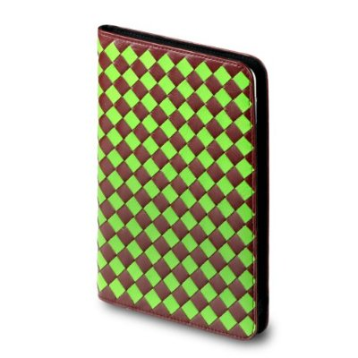OCTO Weave Kindle 2 Leather Cover With Hinge ($75)