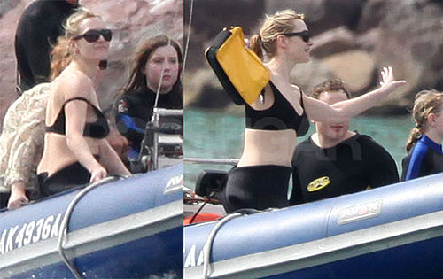 Photos of Kate Winslet in a Bikini on Vacation in Mexico