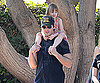 Slide Photo of Peter Facinelli and Fiona in LA