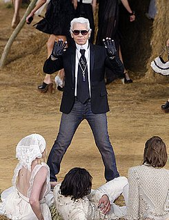 Karl Lagerfeld Staying at Chanel 2010-03-16 09:56:45
