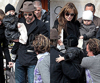 Photos of Vivienne and Knox Jolie-Pitt in Italy