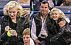 Photos of Gwen Stefani and Gavin Rossdale Watching Roger Federer Play Tennis in California