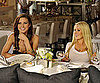 Slide Photo of Audrina Patridge and Heidi Montag Wearing a Tight Shirt While Eating Lunch Filming The Hills in LA