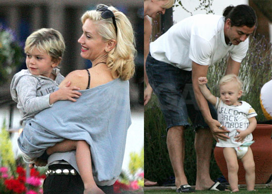 Photos of Gwen, Gav, King, Zuma