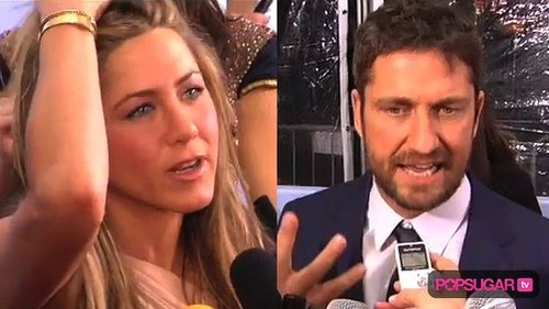 Gerard Butler Compliments Jennifer Aniston at the New York City Premiere of The Bounty Hunter