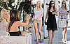 Photos of Heidi Montag, Audrina Patridge, and Kristin Cavallari Filming The Hills in Los Angeles