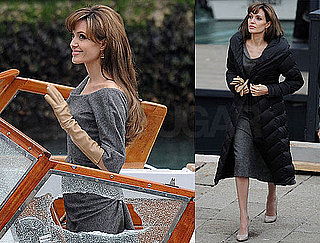 Photos of Angelina Jolie Filming The Tourist in Venice