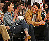 Slide Photo of Tom Cruise and Katie Holmes at the LA Lakers Game