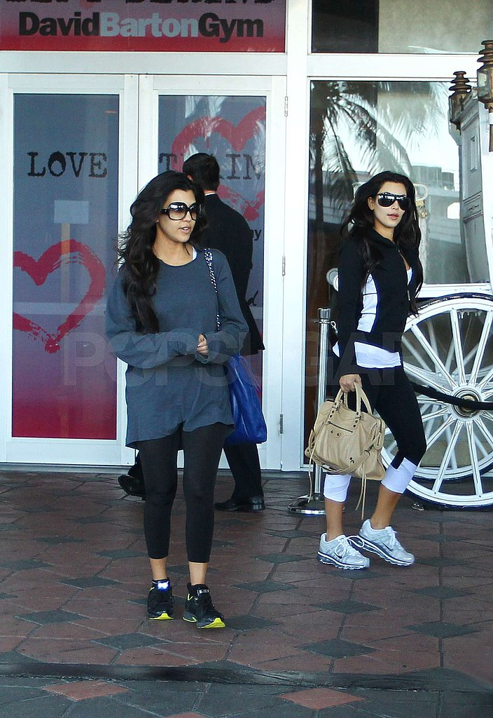 Photos of kim and kourtney in a bikini