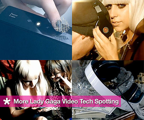 Tech Spotting in Lady Gaga's Music Videos