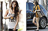 Photos of Ashley Greene Getting Her Hair Done Before a Photo Shoot in LA