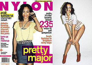 Photos And Quotes From Zoe Saldana in Nylon Magazine 2010-03-23 02:00:00
