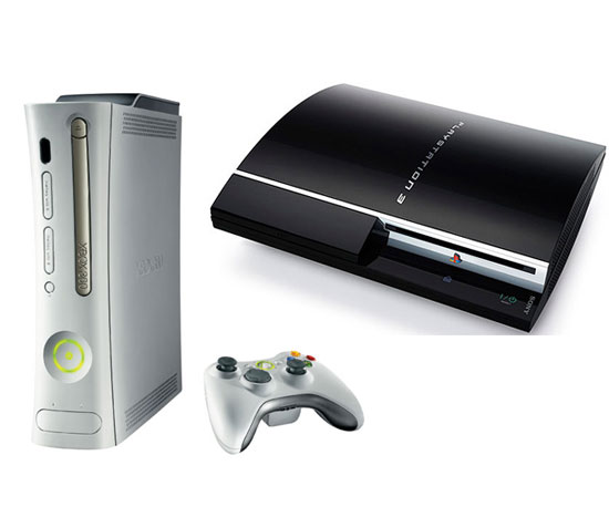 Xbox 360 and PlayStation 3 ($280 and $300)