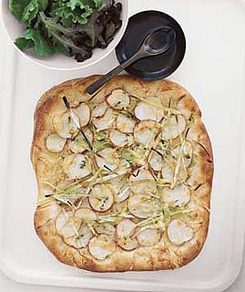 Fast Vegetarian Potato and Leek Flat Bread Recipe