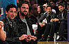 Photos of Gerard Butler and Adrien Brody at a Lakers Game in LA