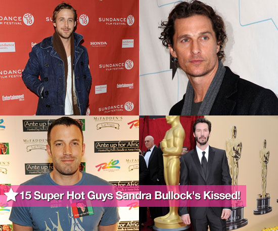 15 Super Hot Guys Sandra Bullock's Kissed!