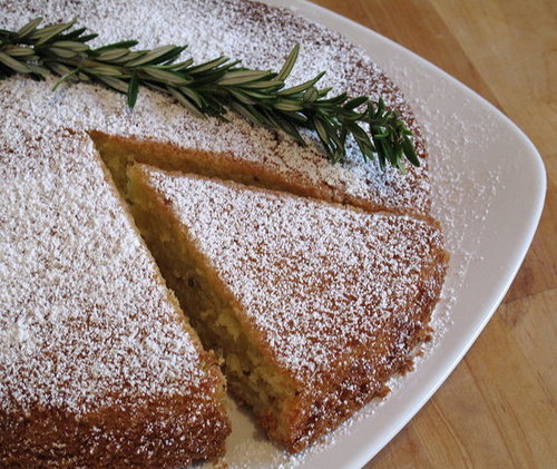 Rosemary Olive Oil Cake Recipe