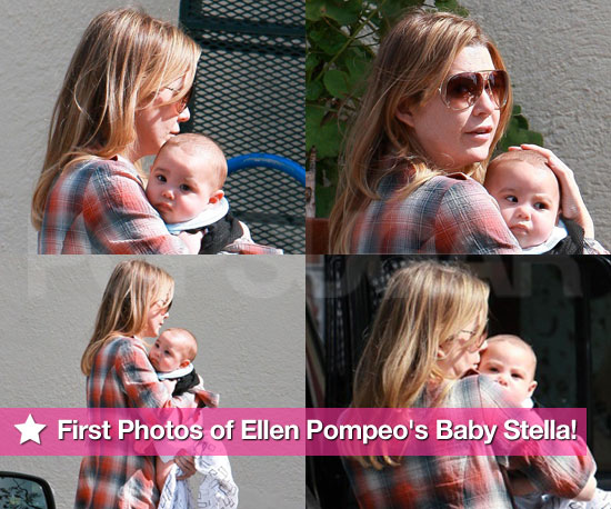 First Photos of Ellen Pompeo's Baby Stella!