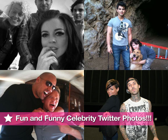 Twitter Photos of Lindsay Lohan, Joe Jonas, Neil Parick Harris, Rihanna and Travis Barker 2010-03-25 10:30:00