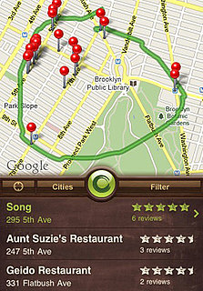 Find Restaurants Anywhere With Sketch-A-Search For iPhone