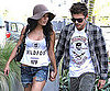 Slide Photo of Zac Efron and Vanessa Hudgens in Malibu