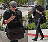 Photos of Kellan Lutz Reading a Leather Bound Journal in Los Angeles