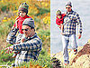 Photos of Matthew And Levi McConaughey Walking in Malibu
