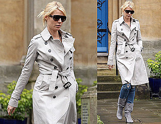 Photos of Gwyneth Paltrow Leaving a London Church