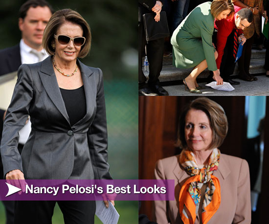 Nancy Pelosi's Best Looks, Courtesy of Her Husband-Stylist