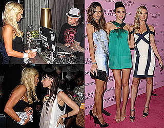 Photos of Paris Hilton and Nicole Richie Together at Victoria's Secret Swimsuit Party