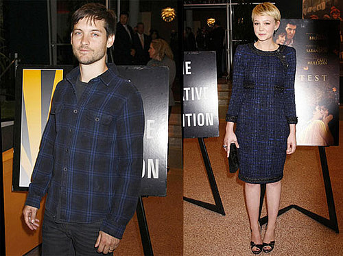 Photos of Carey Mulligan and Tobey Maguire at an LA Screening of The Greatest 2010-03-28 18:30:40