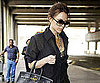 Slide Photo of Victoria Beckham at Heathrow