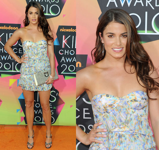 Nikki Reed at 2010 Kids Choice Awards